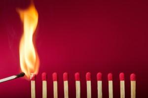 Is het vuur in jou gedoofd ?