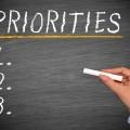 Prioriteiten stellen