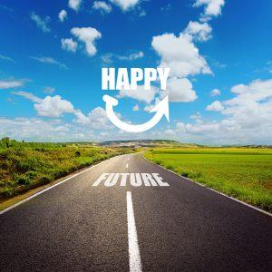 De weg naar gelukkig werken en een gelukkige toekomst!