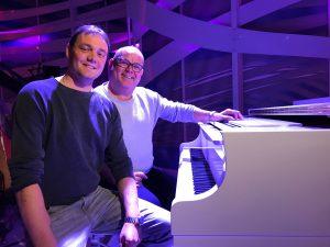 Bernd van den Bos, muzikaal leider, pianist en liedjesschrijver